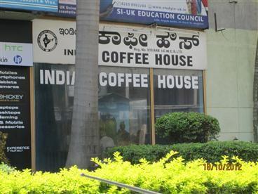 Indian Coffee House, Church Street, Bangalore  Masala Dosa, cold