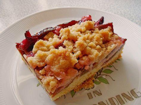 Omas Streusel - Zwetschgenkuchen mit Mürbteig, ein tolles Rezept aus der Kategorie Kuchen. Bewertungen: 40. Durchschnitt: Ø 4,6.
