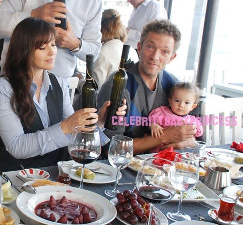 Monica Bellucci (mom at 46) with daughter Léonie   women ...
