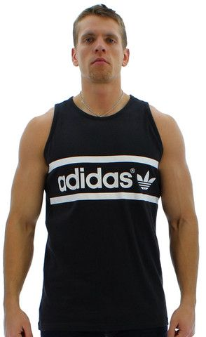 7096b38f69831 Men s Tanks - Adidas Originals M Logo Men s Tank Top Shirt