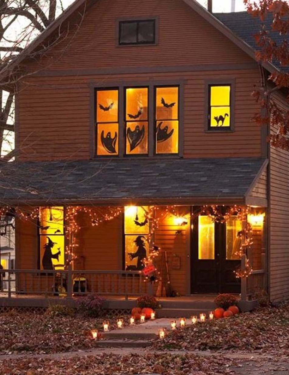 Décoration Halloween  16 inspirations en images pour décorer l\u0027extérieur  de votre maison