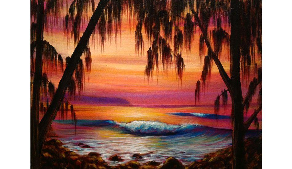 Artist Portfolio Clark Takashima Surf art, Hawaiian art