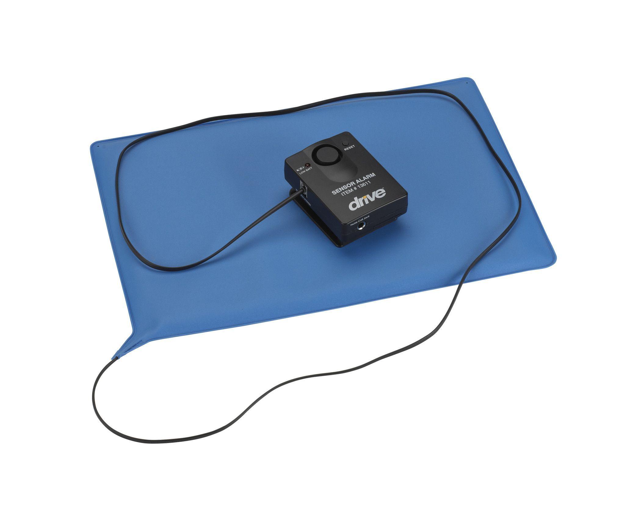 Pressure Sensitive Bed Chair Patient Alarm with Reset