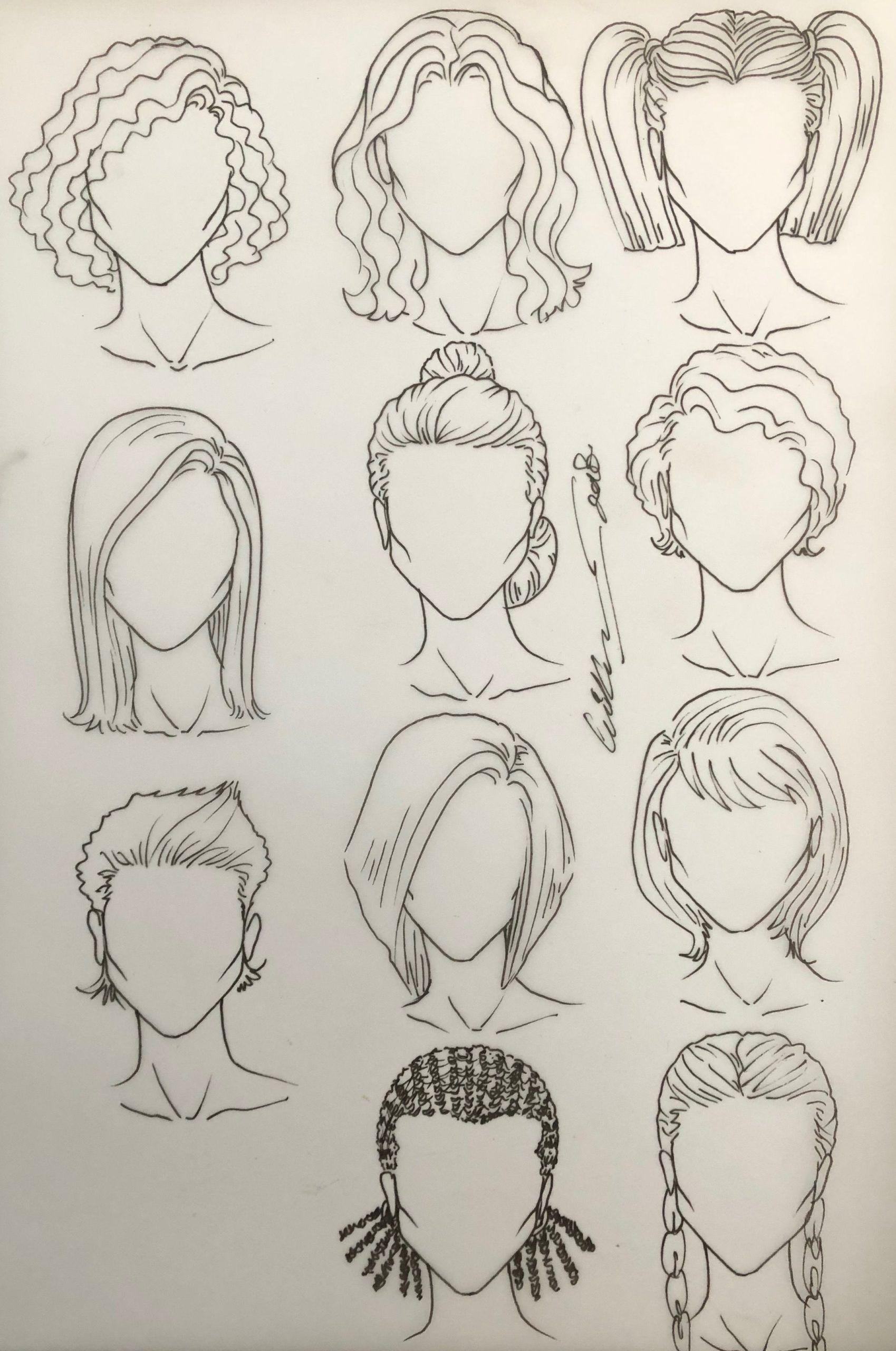 Weibliche Frisuren Dr Kappil Kishor Im Jahr 2019 Haarskizze Croquis Weibliche Frisur Frisuren Zeichnen Haare Zeichnen Weibliche Frisuren