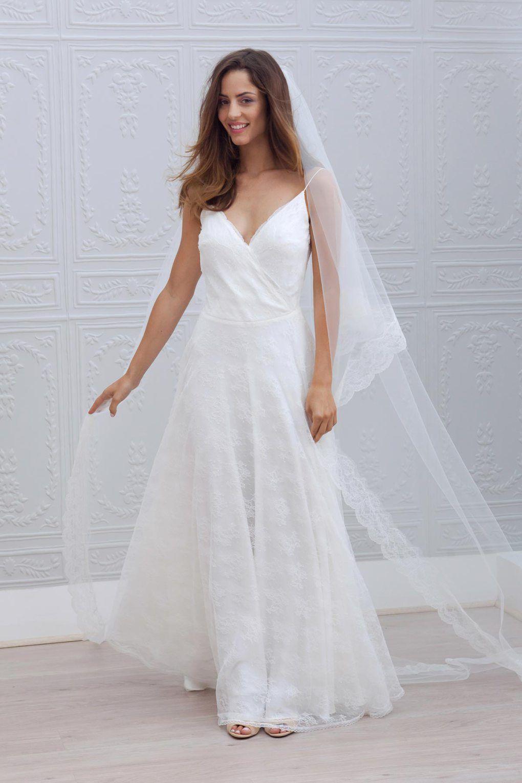 After wedding dress ideas  Marie Laporte Robes de mariée u Wedding dresses  Dress robes