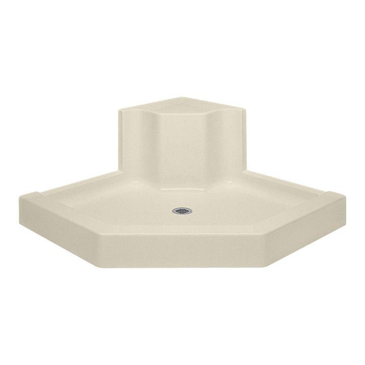 Aquatic Bath 4848sneo Bo Bone Center Drain 48 X48 X6 Neo Angle