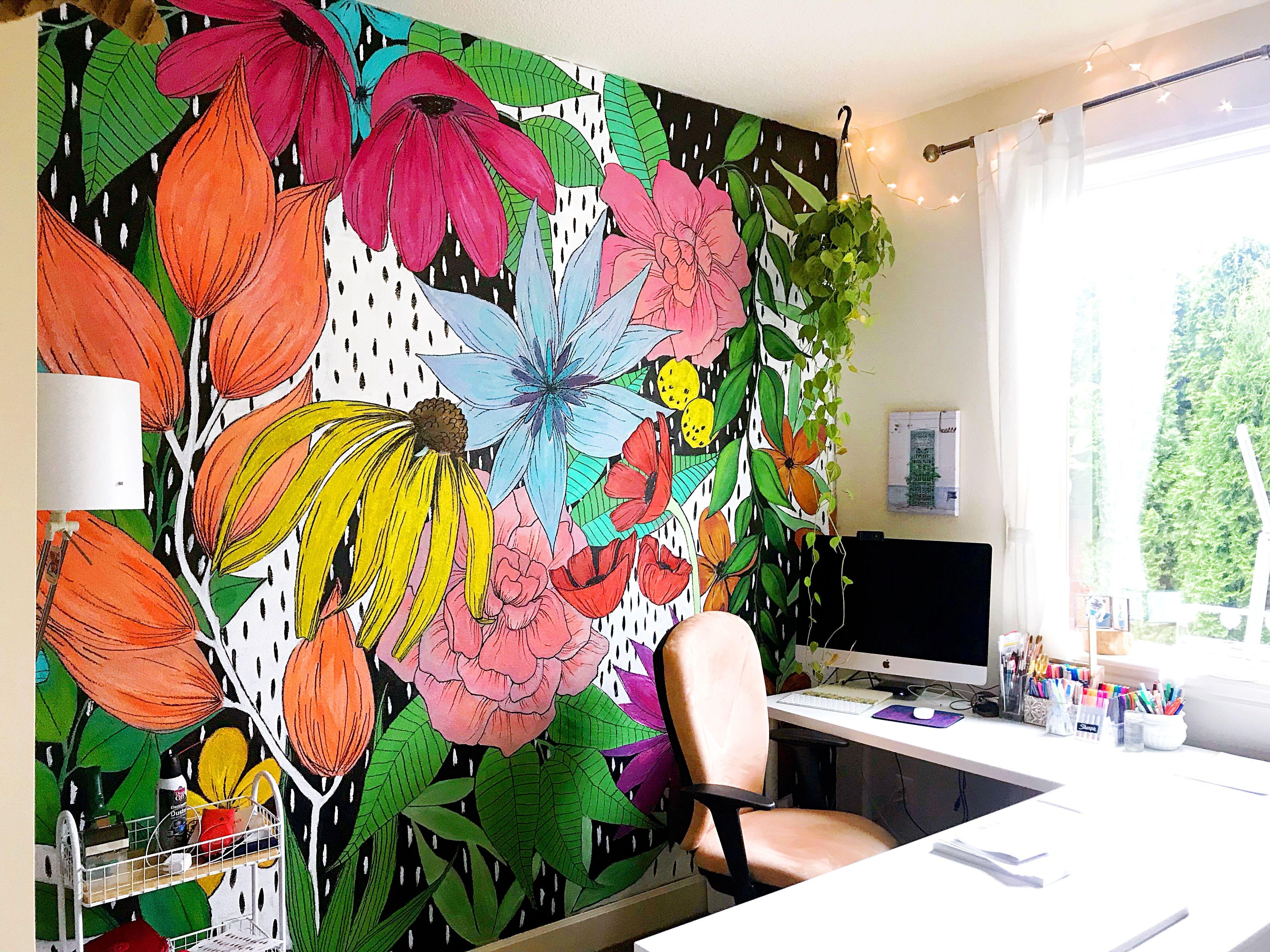 Diy Wall Murals Pinterest In 2020 Wall Murals Diy Wall Murals
