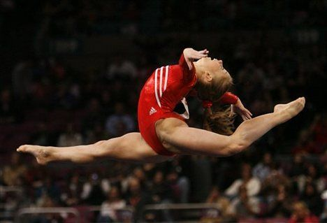 Gymnastics - Favorite summer olympic event with Shawn Johnson.