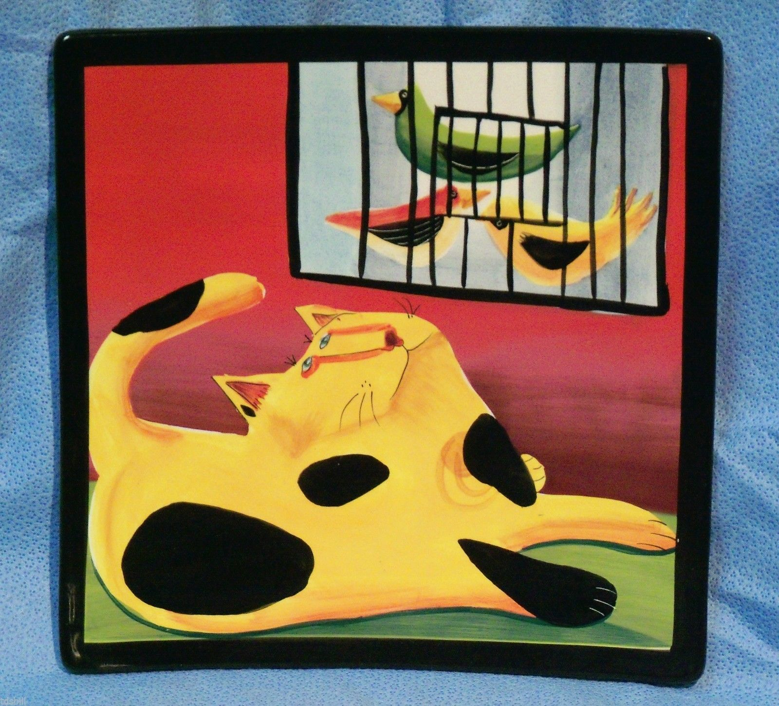 Naylor Designs Hand Painted Wall Hanging Ceramic \