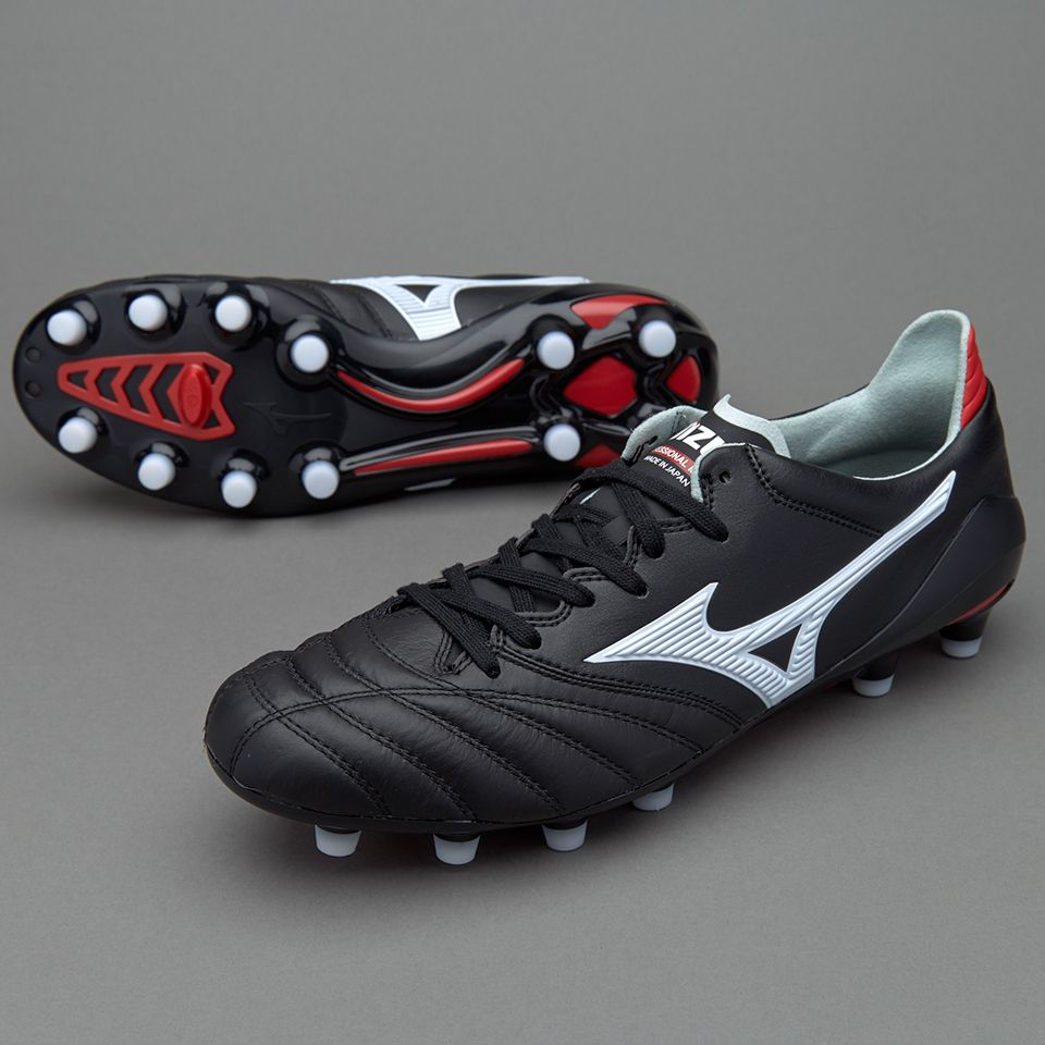 reputable site 3ef3a effec Mizuno Morelia Neo II Made In Japan - Black White Red