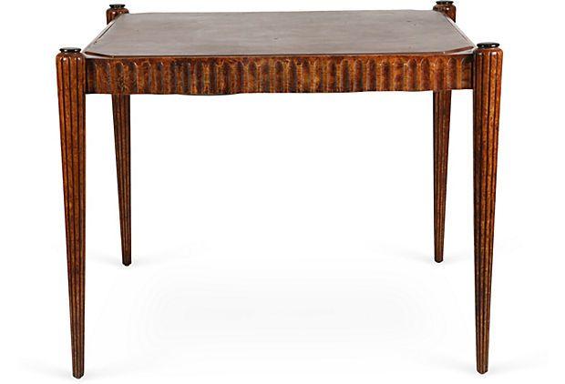 French Art Deco Game Table on OneKingsLane.com