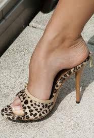 High mules Fetish heel