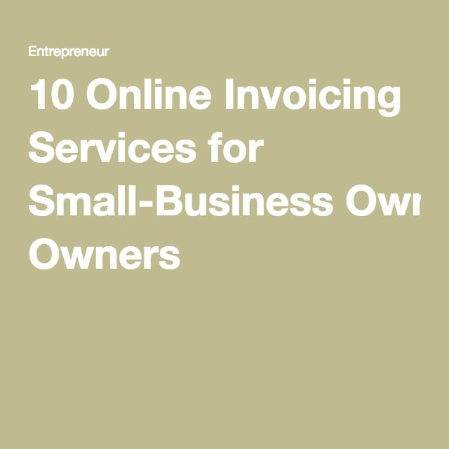 online invoicing services