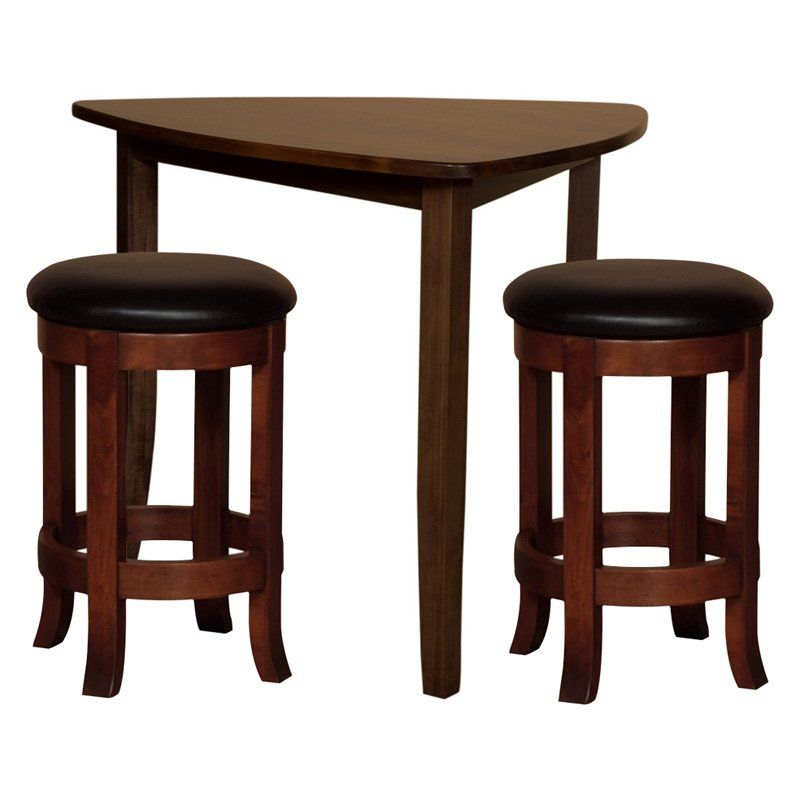 Have to have it. Trilogy Triangle 3 pc. Pub Table Set - $2049.99 @  sc 1 st  Pinterest & Have to have it. Trilogy Triangle 3 pc. Pub Table Set - $2049.99 ...