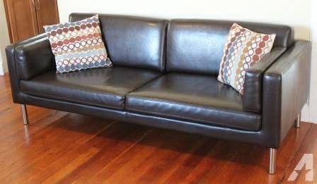 ikea sater sofa uk with 2 chaises this is the old one we wanted but its only here and in australia maybe used on craiglist called dark brown leather couch 77 5