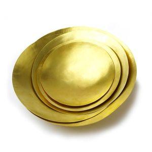 Gold Bowl 黃銅置物皿
