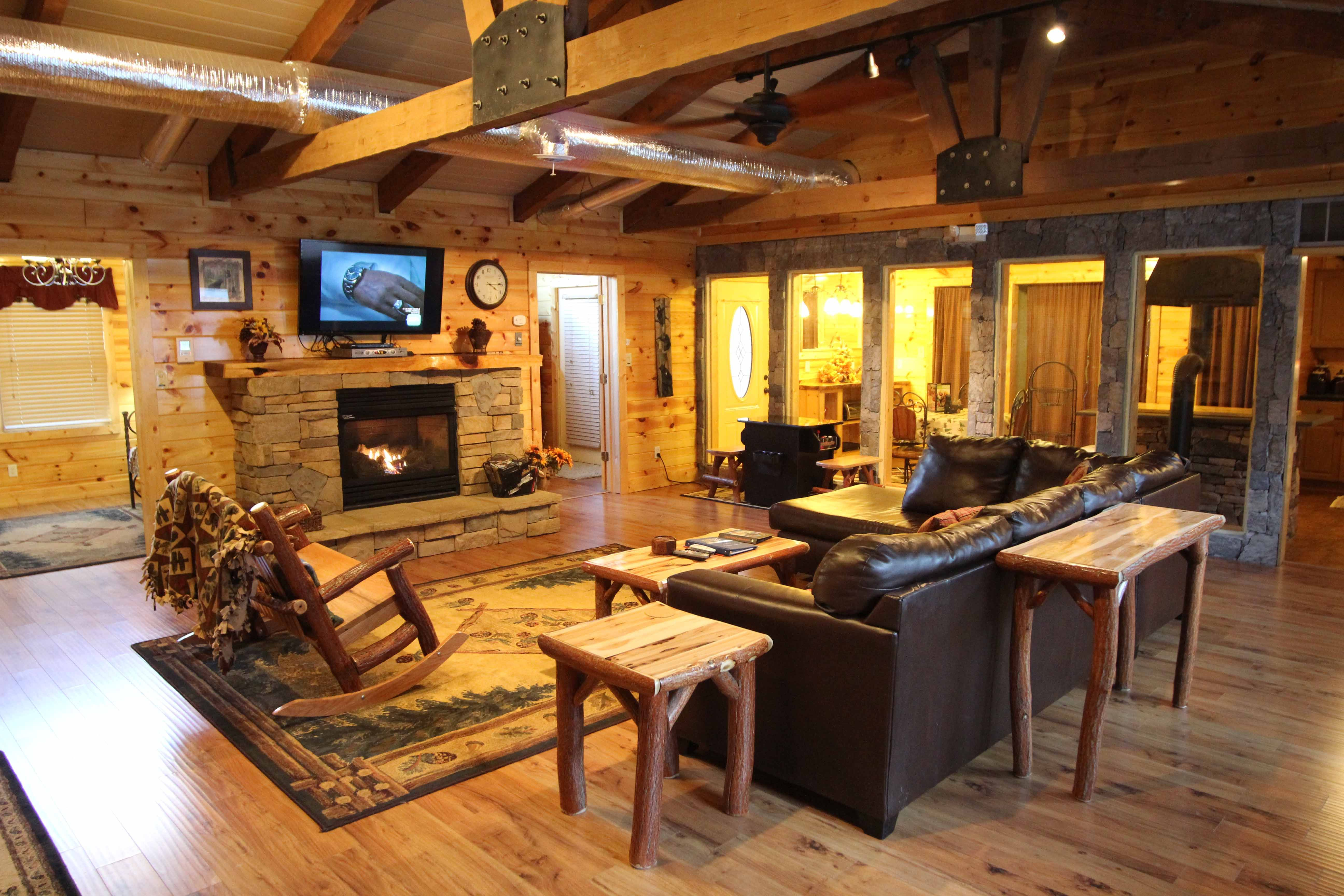 Rustic Ranch Luxury 2 Bedroom Pigeon Forge Cabin Rental Pigeon Forge Cabin Rentals Pigeon Forge Cabins Cabin