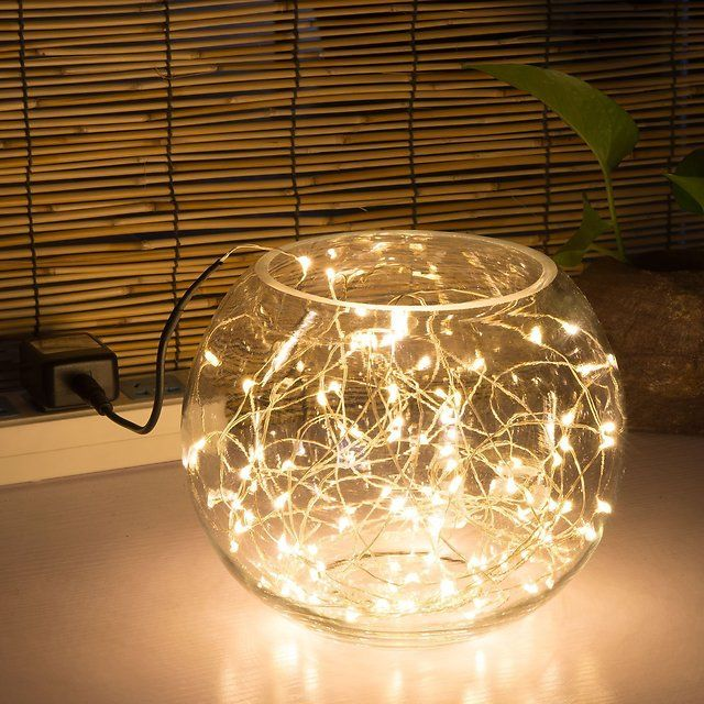 Decorative Indoor String Lights Amusing Kohree 100 Micro Leds String Light On 33Ft Long Ultra Thin String Decorating Design