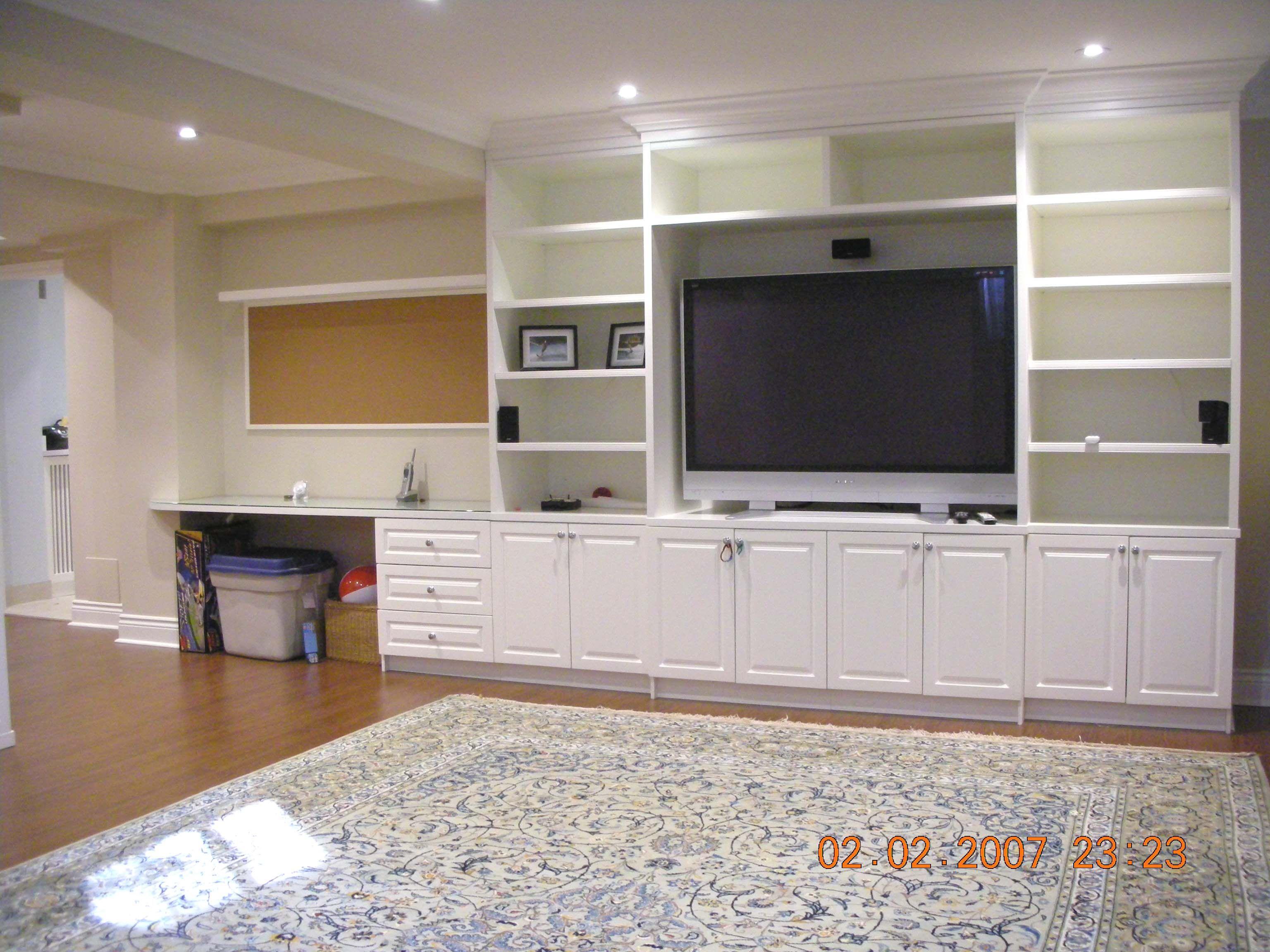 desk cabinets tv shelves built ins for living room desk in living room built in shelves. Black Bedroom Furniture Sets. Home Design Ideas