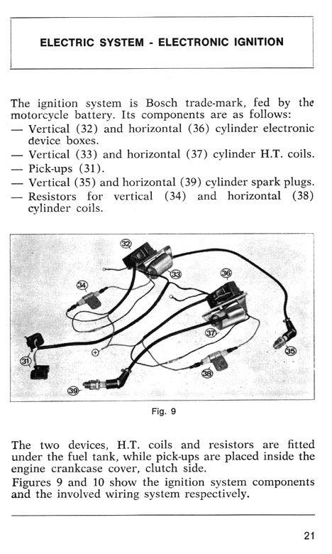 ducati pantah wiring diagram ducati darmah service manual manual  ignition system  ducati darmah service manual manual