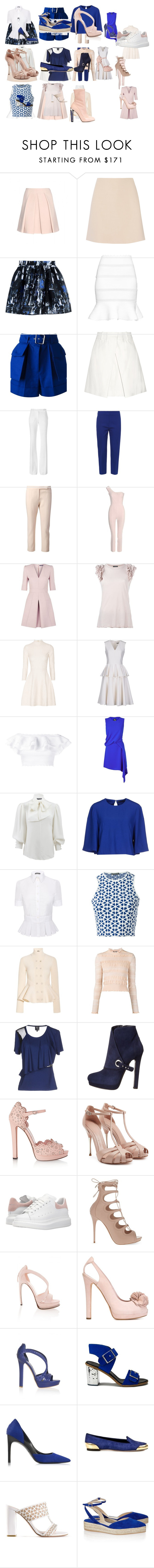 """""""Untitled #3238"""" by luciana-boneca on Polyvore featuring Alexander McQueen, McQ by Alexander McQueen and Paul Andrew"""