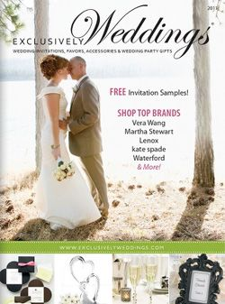 Exclusively Weddings Catalog Everything You Need For That Special Day Wedding Catalogs Exclusive Wedding Online Wedding
