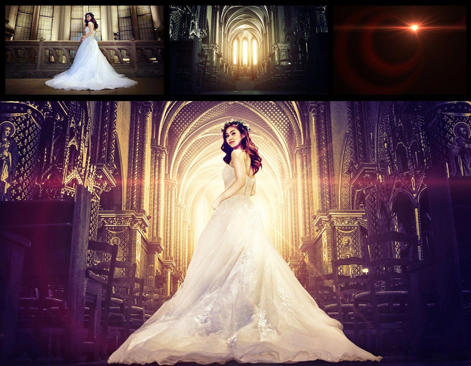 In this Photoshop Tutorial, Learn how to Create Bride ...