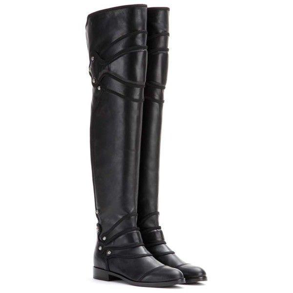 Boots leather black Dolce & Gabbana K8TuisSVdO