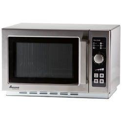 Amana 1 2 Cu Ft 1000 Watt Medium Duty Microwave Oven 22 W Microwave Oven Microwave Amana