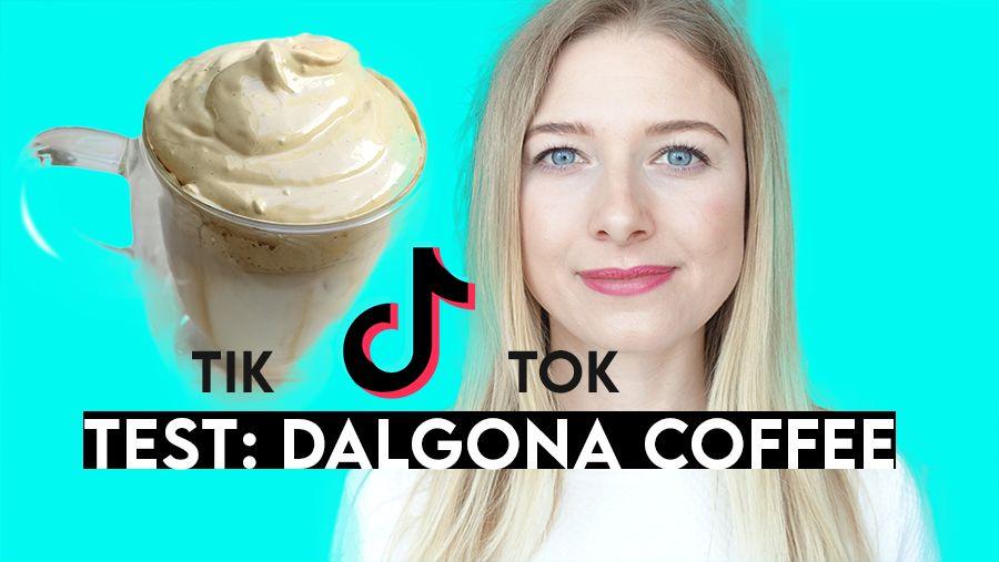 DALGONA Coffee deutsch Whipped Eis Kaffee TIK TOK Trend