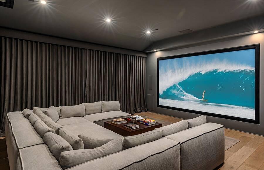 See Inside Scott Disick S Multi Million Dollar Home From Flip It Like Disick E Online Home Cinema Room Home Theater Room Design Home Theater Design