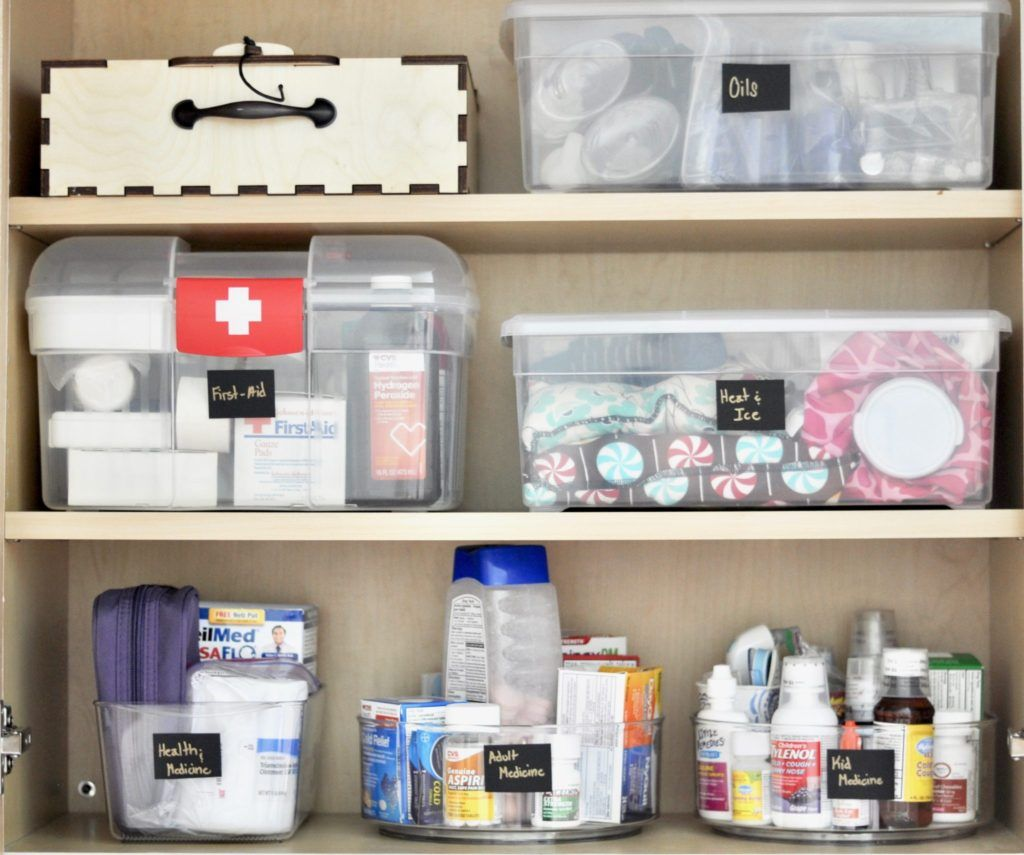 Organized Medicine Cabinet In 4 Steps Intentional Edit Organizing And All Things Home Medicine Organization Medicine Cabinet Organization Home Organization