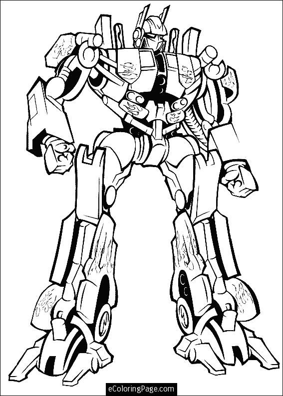 transformers printable coloring pages prime printable
