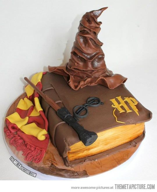 How To Make Sorting Hat Cake Topper