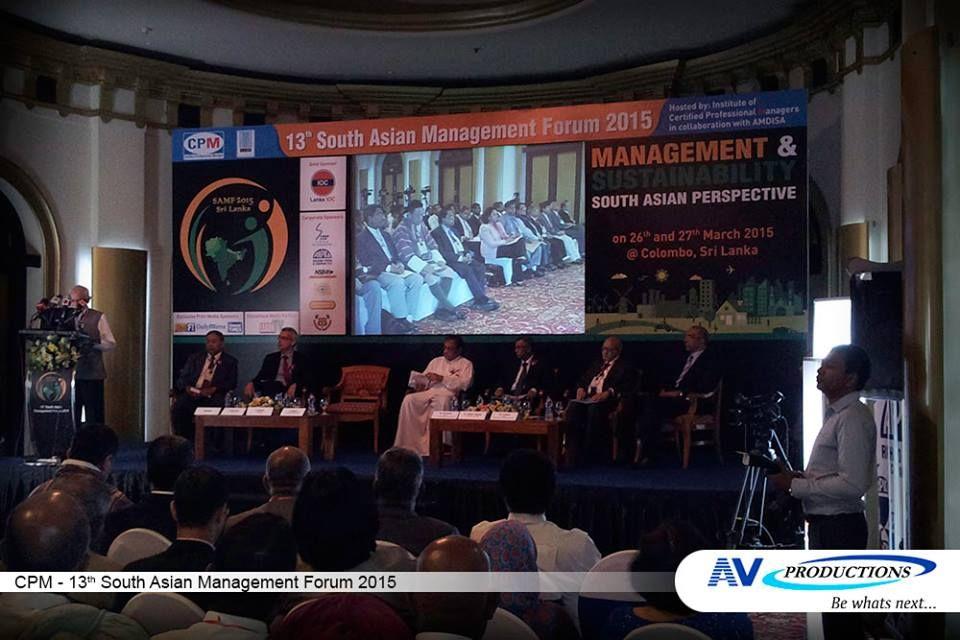 CMP - 13th South Asian Management Forum 2015  #CPM #South #Asian #Management #Forum — at Taj Samudra.