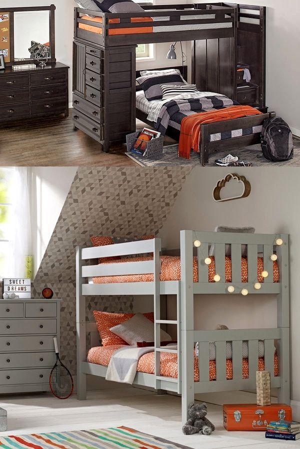 Cool bunk beds for boy room Twin recortadas24 awesome bunk beds for