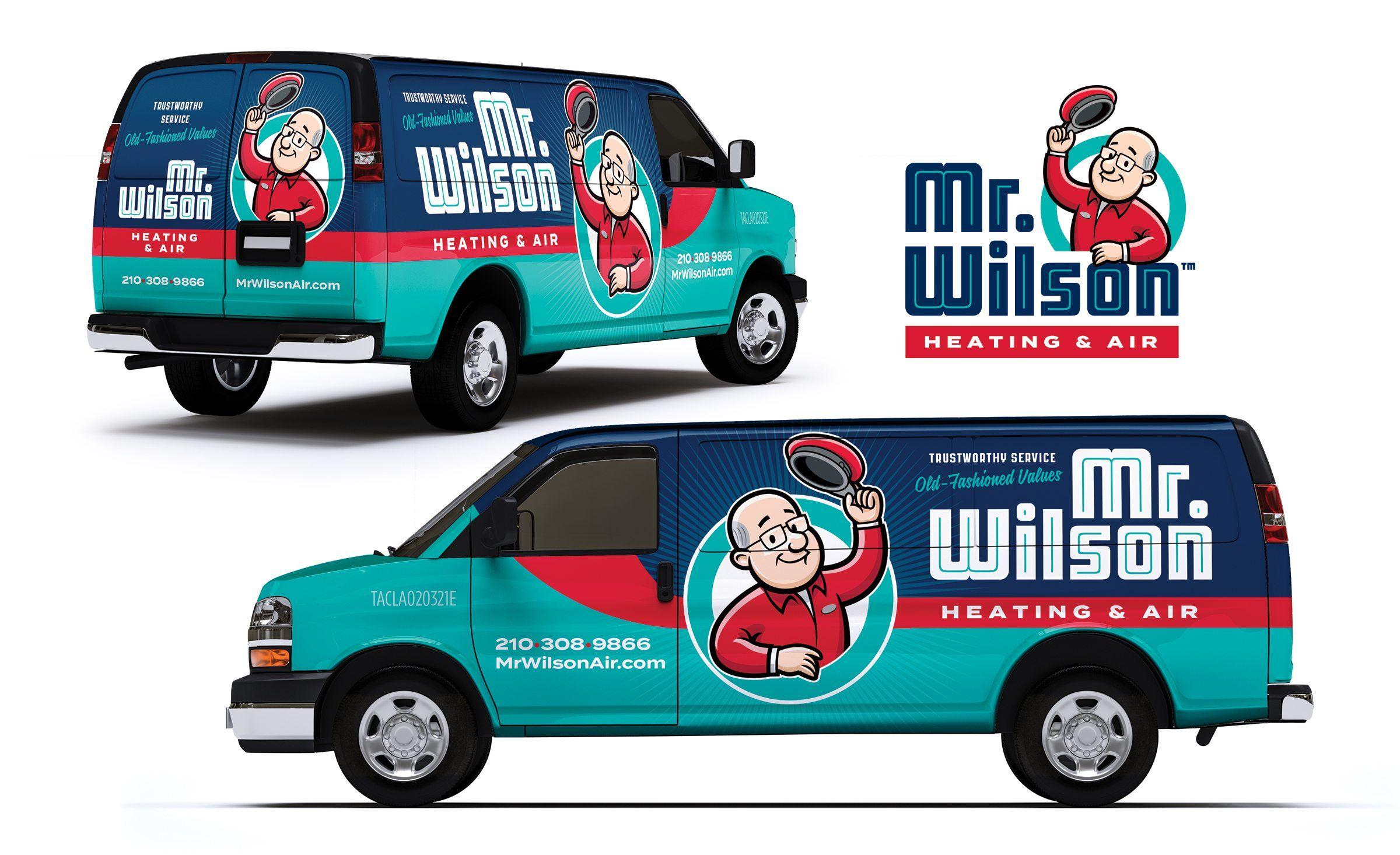 Mr Wilson Heating Air Kickcharge Creative Truck Design Car