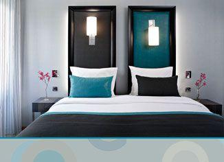 emejing chambre bleu canard et noir gallery design trends 2017 - Chambre Bleu Canard