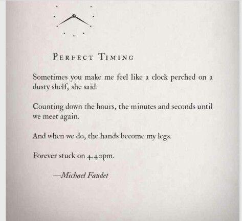 Perfect Timing - Michael Faudet