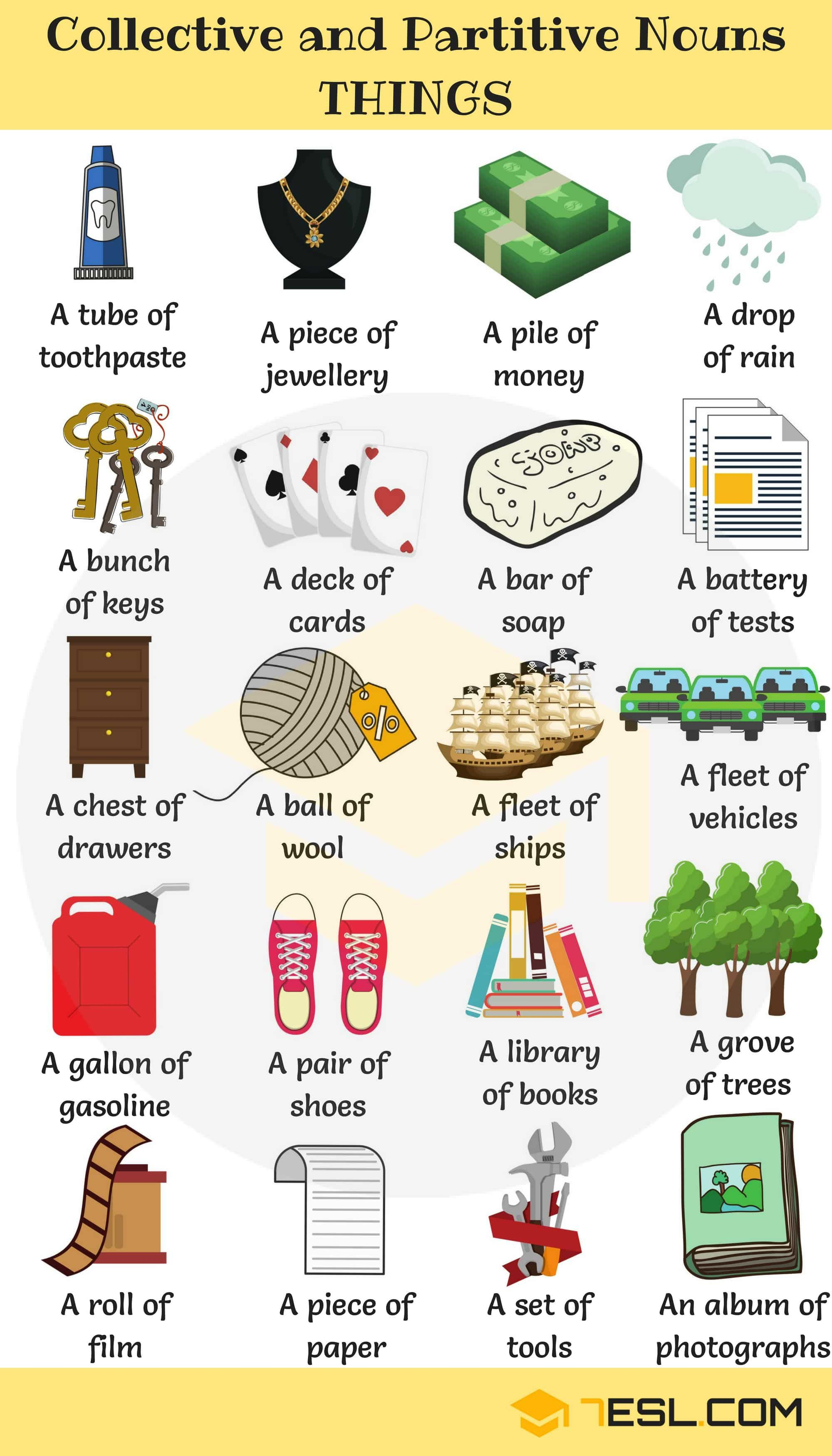 Useful Collective Nouns For Things With Examples