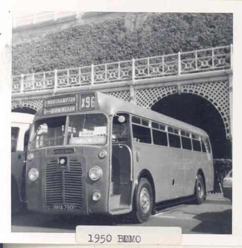 1950 BMMO S6 Midland Red MCW Bus