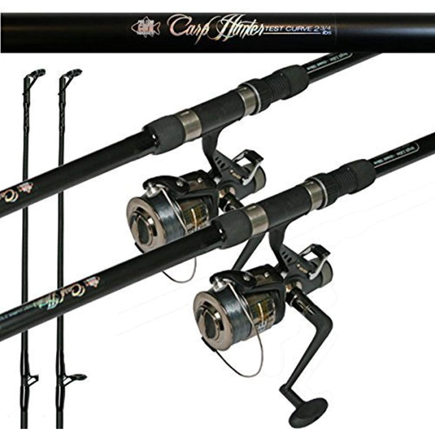 Carp Combo 12ft Carp Rod Bait Runner Reel X 2 By Lineaeffe Find Out More About The Great Product At The Image Link This Is An Carp Rods At Home Gym Rod