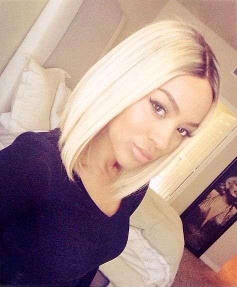 30+ Platinum blonde weave inspirations