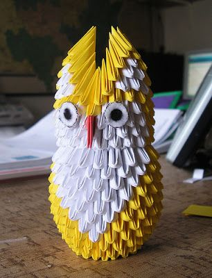 اشغال يدوية بالخرز توته Origami Bird Blog Posts