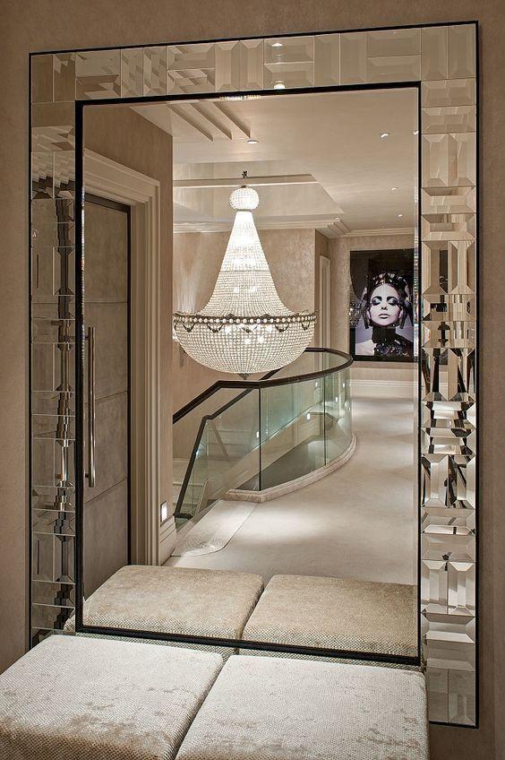Pin von DK auf Spiegel Pinterest - deko wandspiegel wohnzimmer