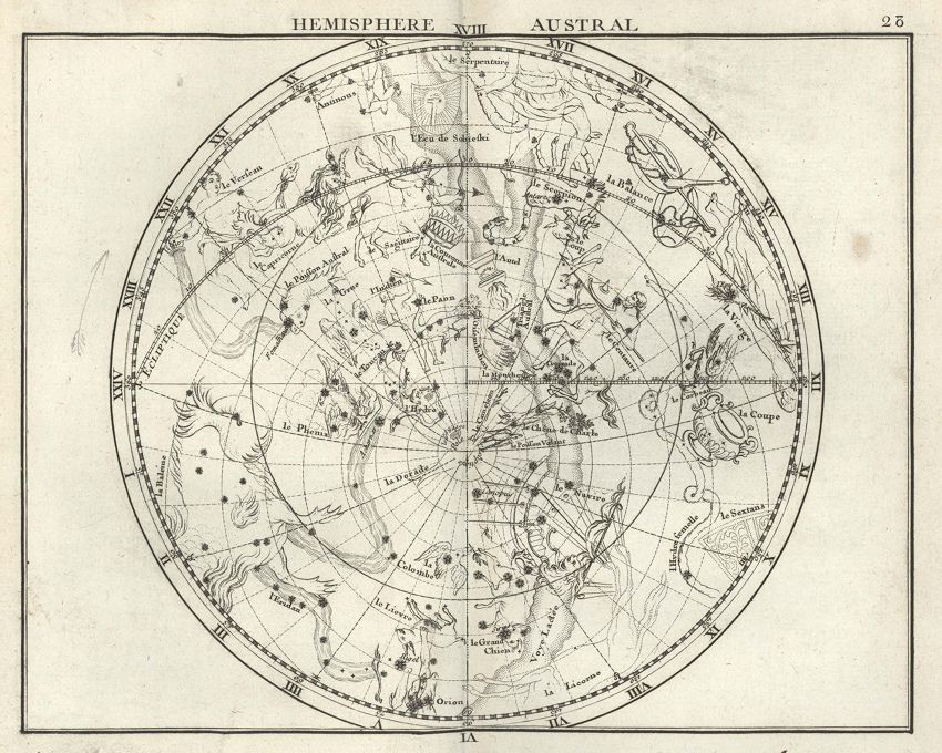 The Celestial Atlas Of Flamsteed   The Public Domain Review