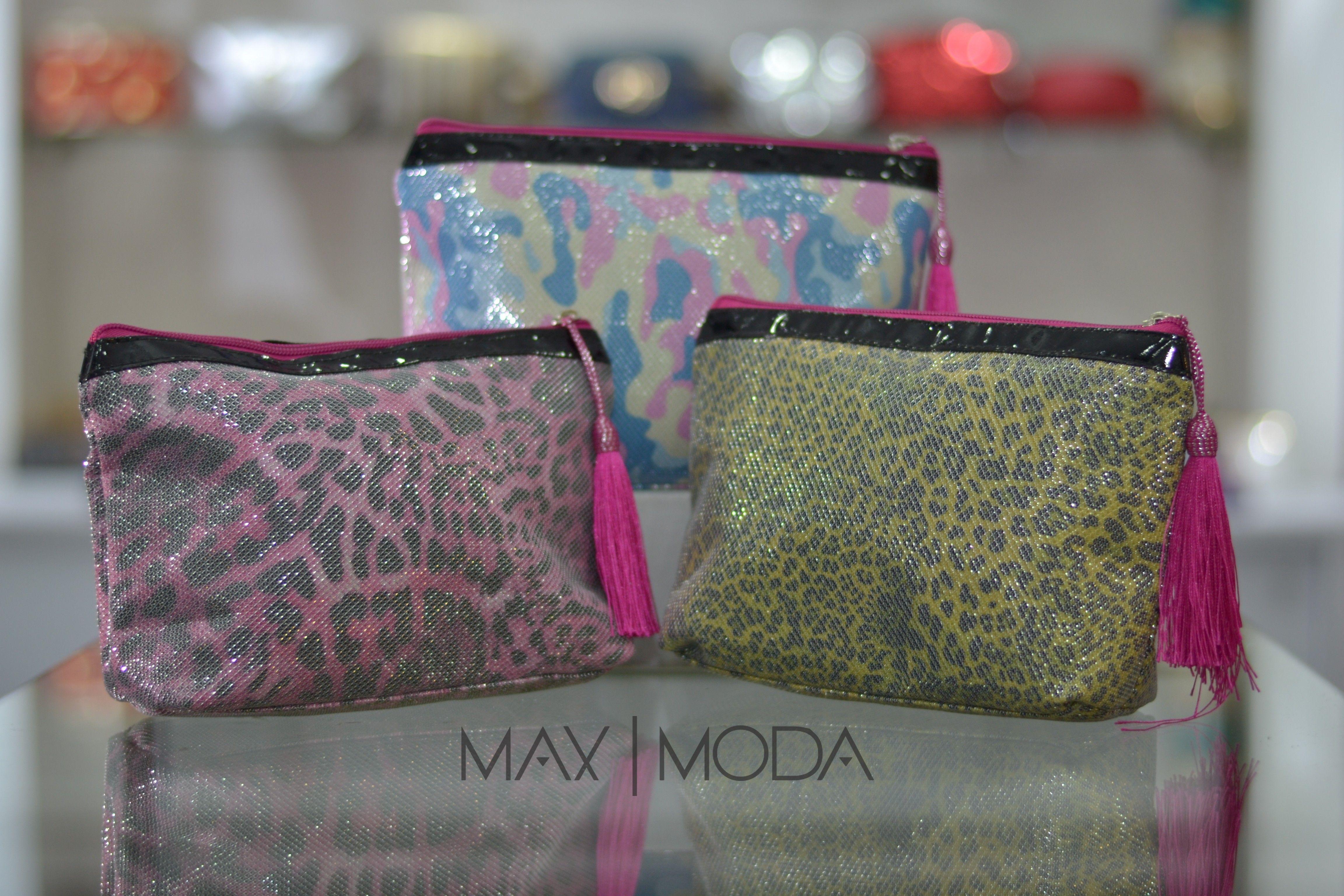 Cosmetiquera Yellow tiger, Pink tiger & camouflage pastel Precio al mayor: $6.000 Precio unidad: $10.000