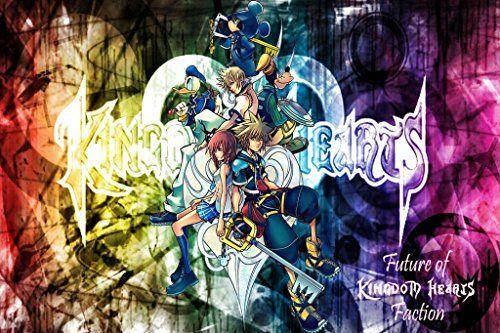 Kingdom Hearts 2 3 Sora Organization Xiii 13 Nice Silk Fabric Cloth Wall Poster Print 20x Kingdom Hearts Characters Kingdom Hearts Wallpaper Kingdom Hearts Ii