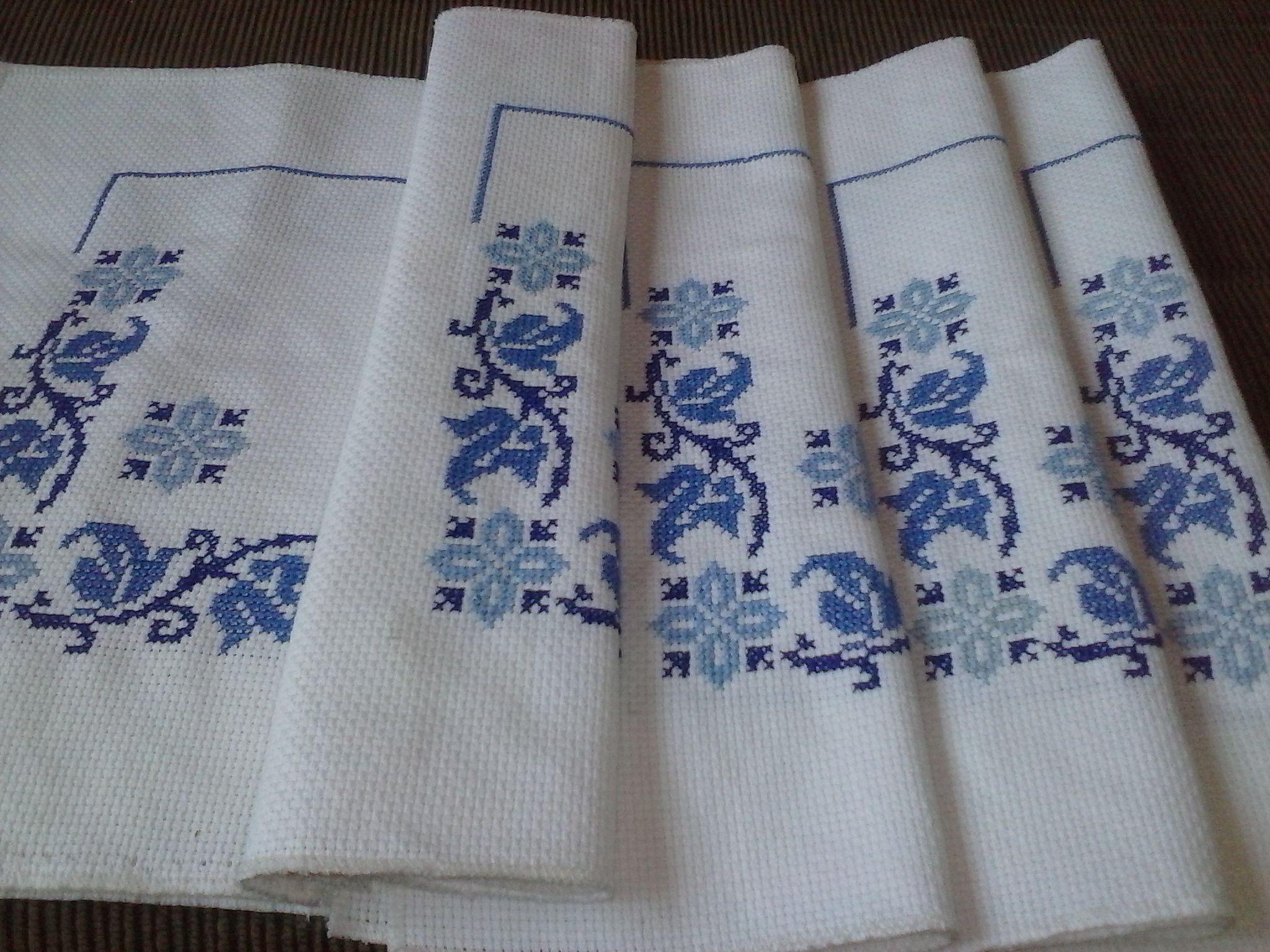 Obra do Berço Maria de Nazaré   toalhas bandeja/jogo americano ...