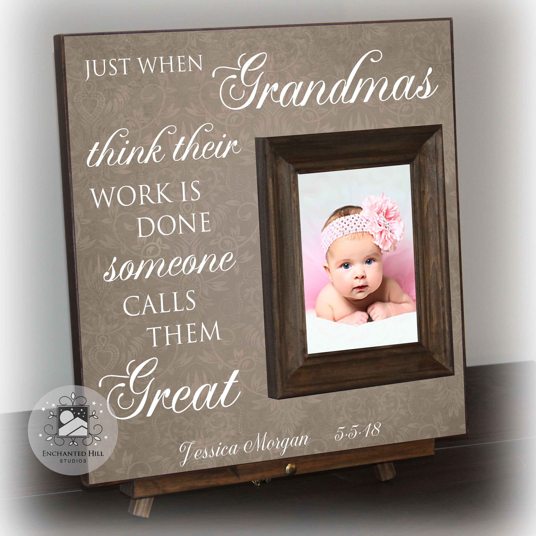 Great Grandma Gift Gift For Great Grandmother Personalized Gift Great Grandma Great Grandma Picture F Great Grandma Gifts Grandma Picture Frame Grandma Gifts